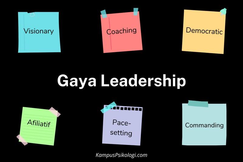6 gaya leadership